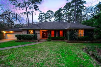 Houston Single Family Home For Sale: 2410 Kings Forest Drive