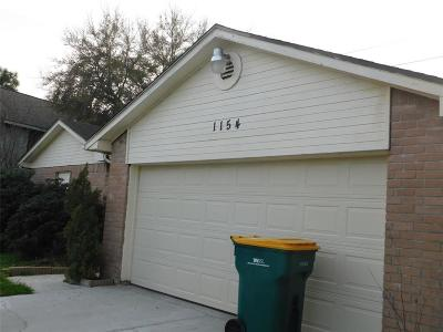 Pearland Single Family Home For Sale: 1154 W Brompton Drive