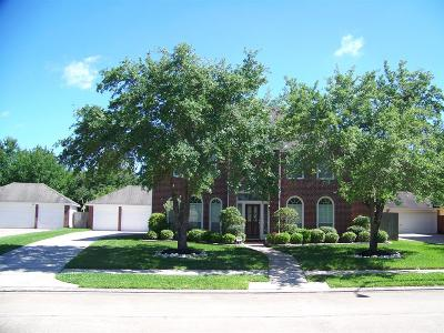 Sugar Land Single Family Home For Sale: 14914 Mill Branch Lane