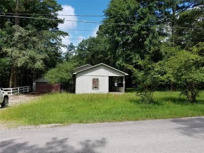 Trinity County Single Family Home Pending: 540 Sportsman Drive