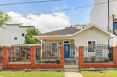 Houston Single Family Home For Sale: 1615 Alamo Street