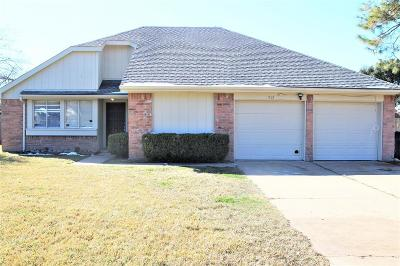 Katy Single Family Home For Sale: 2717 Village Circle Drive