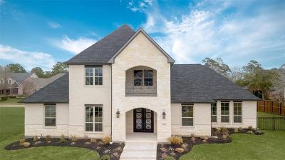 Montgomery Single Family Home For Sale: 299 Green Cove Drive