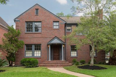 West University Place Single Family Home For Sale: 3402 University Boulevard