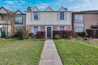 Houston Condo/Townhouse For Sale: 794 Thicket Lane