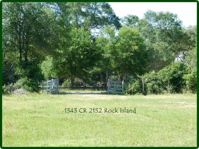 Rock Island TX Farm & Ranch For Sale: $125,125