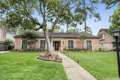 Houston Single Family Home For Sale: 13714 Pebblebrook Drive