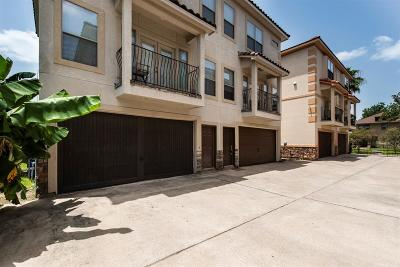 Houston Condo/Townhouse For Sale: 2540 Prospect Street #C