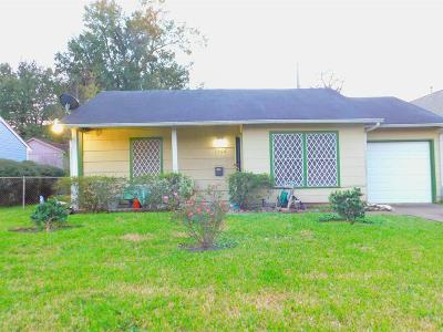 Houston Single Family Home For Sale: 3906 Luca Street