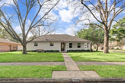 Houston Single Family Home For Sale: 1031 Curtin Street