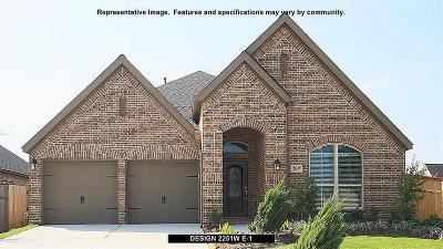 Rosenberg Single Family Home For Sale: 1326 Paradise Creek Lane