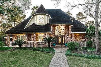 Kingwood Single Family Home For Sale: 2515 Golden Pond Drive