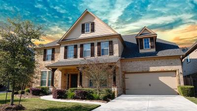 Conroe Single Family Home For Sale: 8153 Tranquil Lake Way
