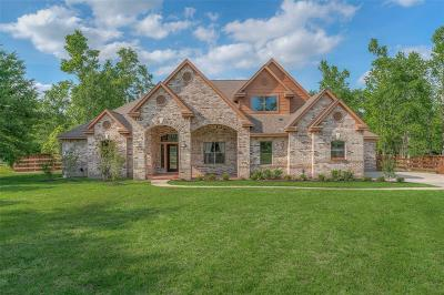 Montgomery Single Family Home For Sale: 7418 Millies Run Road