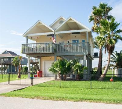 Galveston Single Family Home For Sale: 22812 Camino