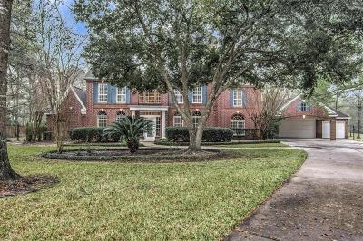 The Woodlands Single Family Home For Sale: 36 Red Sable Place