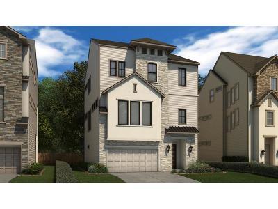Houston Single Family Home For Sale: 2605 Fountain Key Boulevard