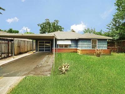 Houston Single Family Home For Sale: 3039 Trenton Road