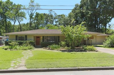 Houston Single Family Home For Sale: 3913 Brookwoods Drive