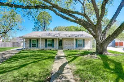 Houston Single Family Home For Sale: 11711 N Ridgewood Circle