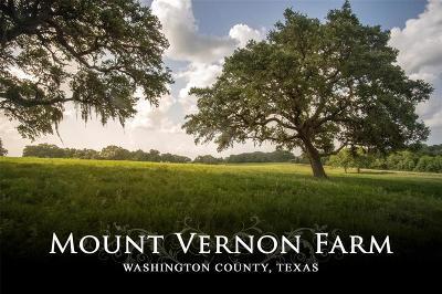 Washington County Country Home/Acreage For Sale: 6703 Mount Vernon Road