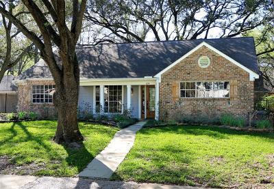 Houston Single Family Home For Sale: 614 Walnut Bend Lane
