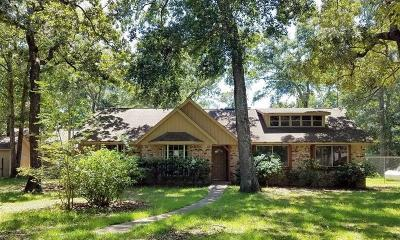 Conroe Single Family Home For Sale: 4741 Rollinghills Road