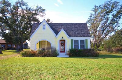 Sealy Single Family Home For Sale: 918 N Meyer Street