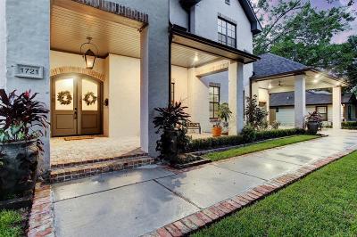 Houston Single Family Home For Sale: 1721 Creek Drive