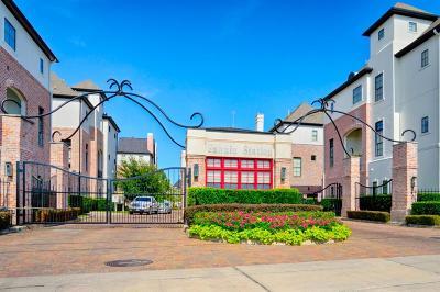 Houston Condo/Townhouse For Sale: 9603 Fannin Station E