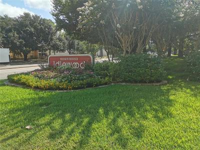 Houston Condo/Townhouse For Sale: 10047 Westpark Drive #76