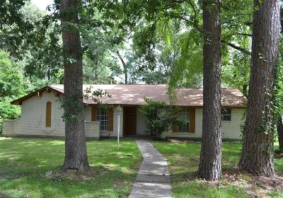 Spring Single Family Home For Sale: 24931 Hickory Hill Road