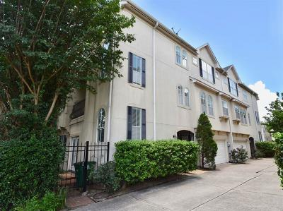 Houston TX Condo/Townhouse For Sale: $449,500