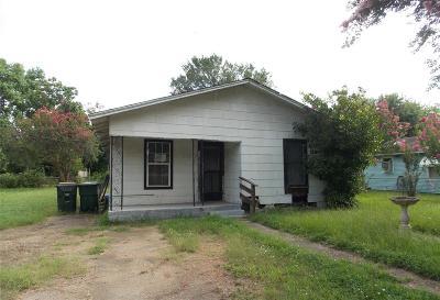 Columbus Single Family Home For Sale: 1120 S Houston Street