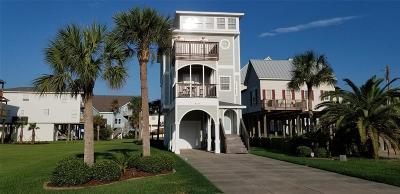 Galveston Single Family Home For Sale: 4135 Defender Lane
