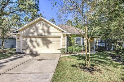 The Woodlands Single Family Home For Sale: 142 N Vesper Bend Circle N
