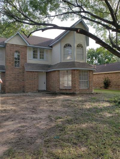 Houston Single Family Home For Sale: 15215 Yorkpoint Drive