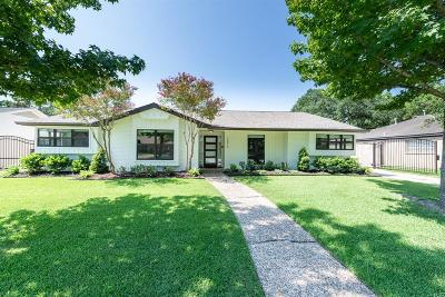 Houston Single Family Home For Sale: 10615 Cranbrook Road