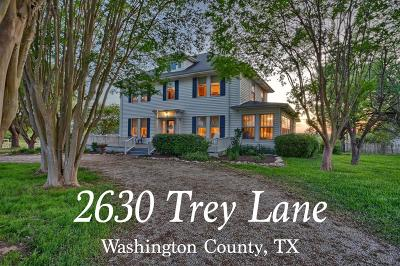 Single Family Home For Sale: 2630 Trey Lane