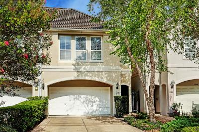 Houston Condo/Townhouse For Sale: 2203 Huldy