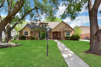 Houston Single Family Home For Sale: 822 Olney Oak Drive