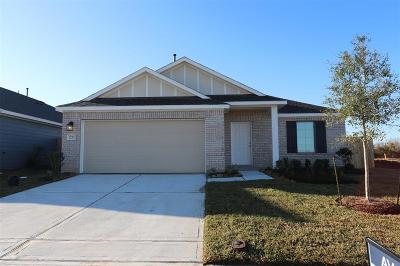 Alvin Single Family Home For Sale: 1253 Steed Bluff