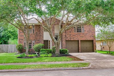 Kemah Single Family Home For Sale: 1727 Oak Valley Drive