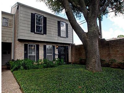 Houston Condo/Townhouse For Sale: 14169 Misty Meadow Lane