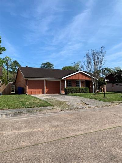 Houston Single Family Home For Sale: 11710 N Marianne Circle