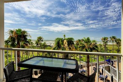 Galveston TX Mid/High-Rise For Sale: $315,000