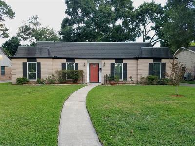 Houston Single Family Home For Sale: 2411 Del Norte Street