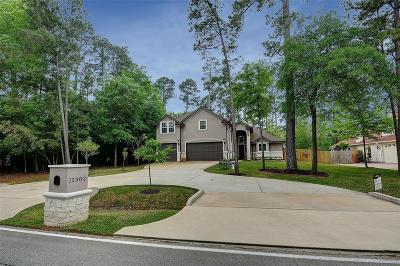 Montgomery Single Family Home For Sale: 11503 Walden Road