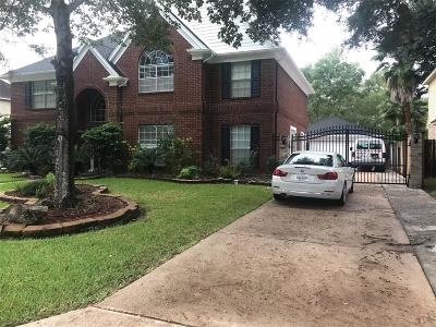 Sugar Land Single Family Home For Sale: 9614 Garden Row Drive