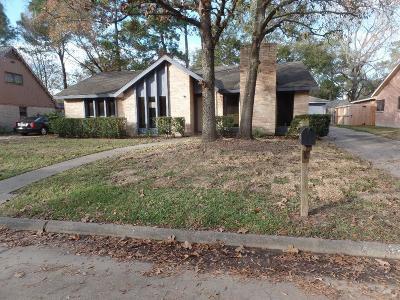 Kingwood Single Family Home For Sale: 3711 Riverwood Park Drive